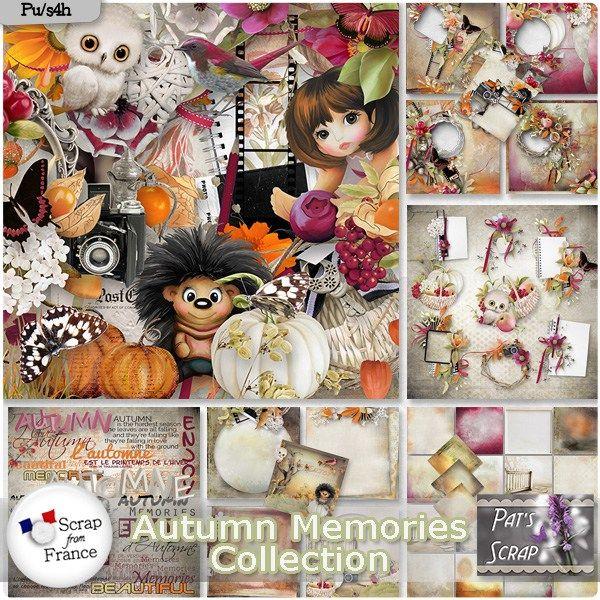 Autumn Memories by Pat's Scrap http://bit.ly/SFF_Pat  http://bit.ly/DSBch_Pat http://bit.ly/MyM_Pat