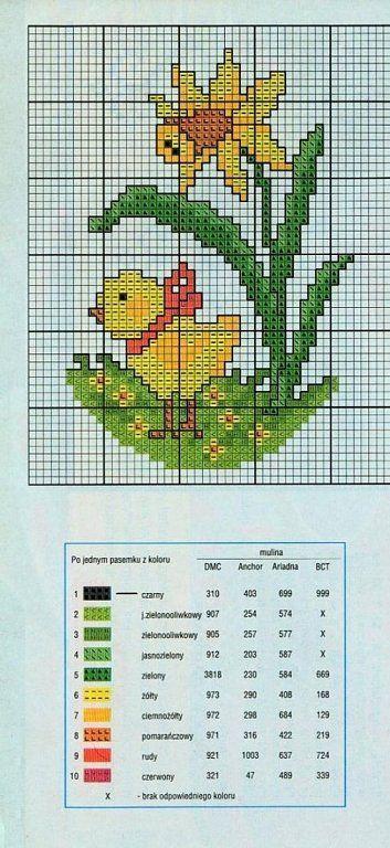 Easter eggs punto de cruz | Aprender manualidades es facilisimo.com