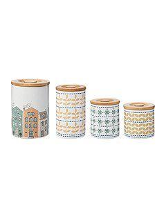 Ceramic storage range