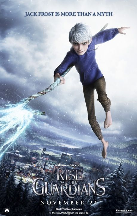Jack Frost in 'Rise Of The Guardians' It's still weird to me though how much he looks like Joffrey.
