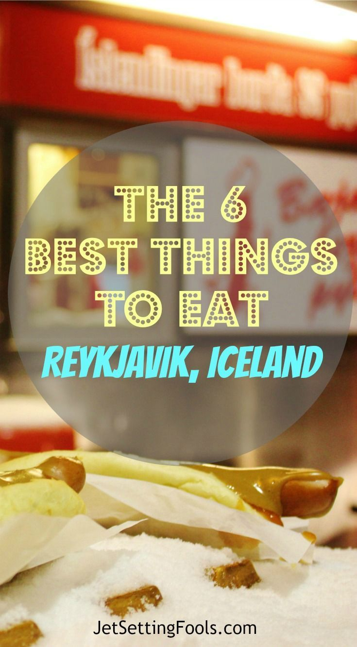 Due to the isolation and harsh winters of an island nation, the national cuisine in Iceland ranges from fairly basic and expected to creative and downright strange. The remoteness also makes it outrageously expensive. We attempted to keep our budget in check and still get a taste of Iceland cuisine and we think we succeeded in finding six of the best things to eat in Reykjavik, Iceland. #Iceland #Reykjavik #Whattoeat #food #foodie #Eat #Travel