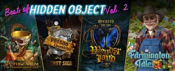 Best of Hidden Object Vol. 2 #Hidden Object #Game | Ambitious detective James Voodoo got in situation out of witch he won't find his way without your help! He and his loyal cat met head-on awful wizards from the voodoo abandoned island. Help James to investigate the mystery brain-twister, tentacles of which are spread all over the world, from a God forsaken hamlet Ravenhill to the richest city in the world Richtown. Travel by diligence, by ship and even by a huge military airship. Find out a…