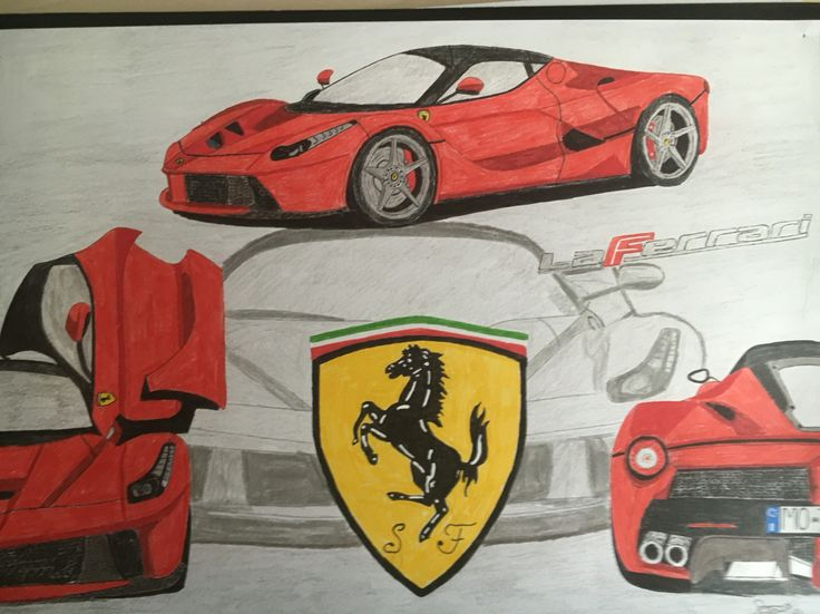 ferrari la ferrari drawing my drawings pinterest la ferrari. Black Bedroom Furniture Sets. Home Design Ideas