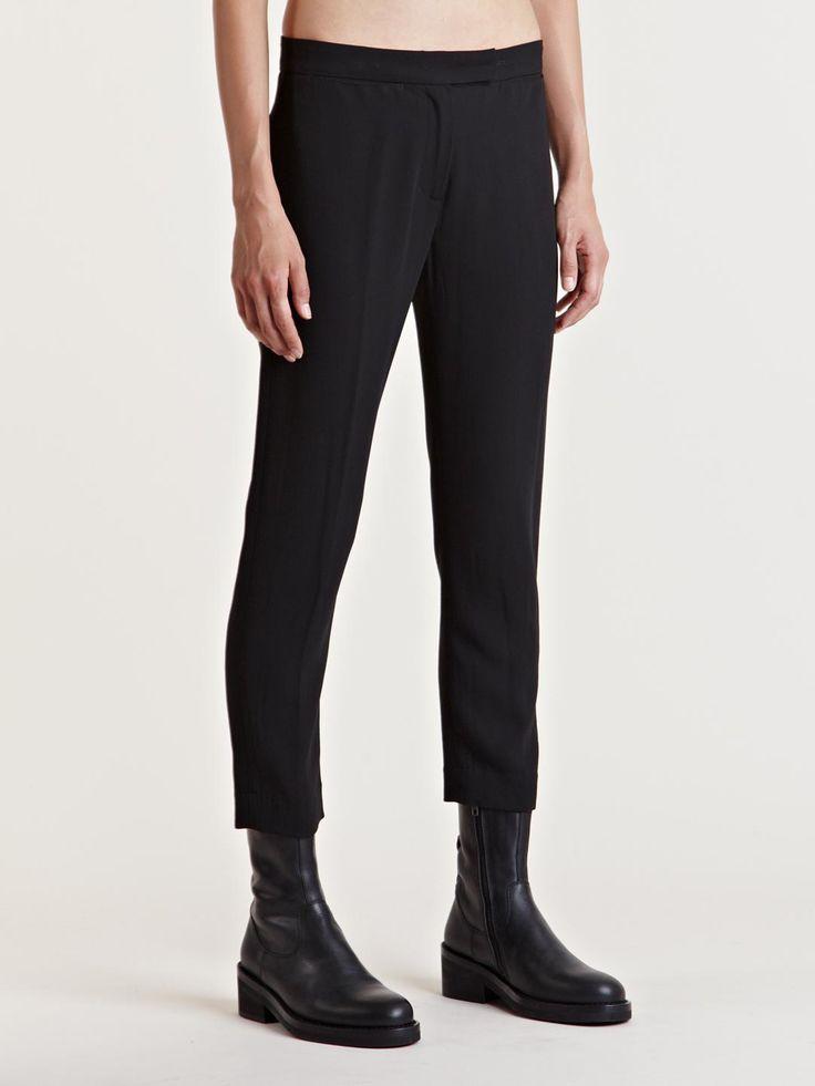 Ann Demeulemeester Women's Wool Viscose Pants