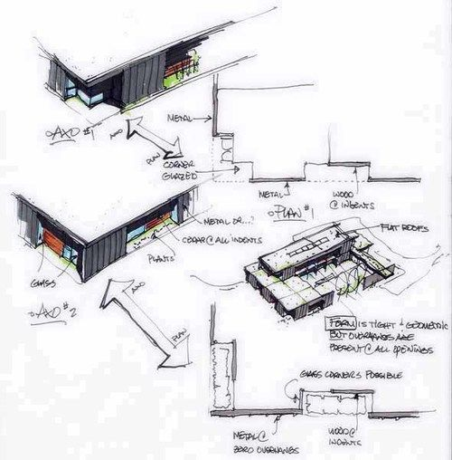303 best Drawings images on Pinterest Architecture, Architecture