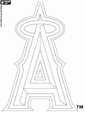 la angel pictures | Los Angeles Angels of Anaheim, team logo, baseball team in the ...