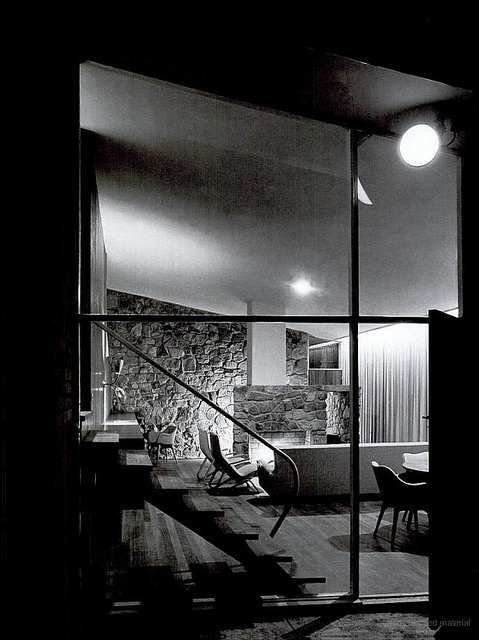 Bowden House  Harry Seidler. Photographed by Max Dupain.