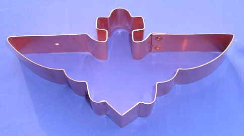 Aviator Wings cookie cutter...they also have all different airplanes but they are expensive!
