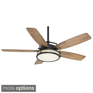 Emerson Amhurst 54-inch Venetian Bronze Transitional Ceiling Fan with Reversible Blades   Overstock.com Shopping - The Best Deals on Ceiling Fans