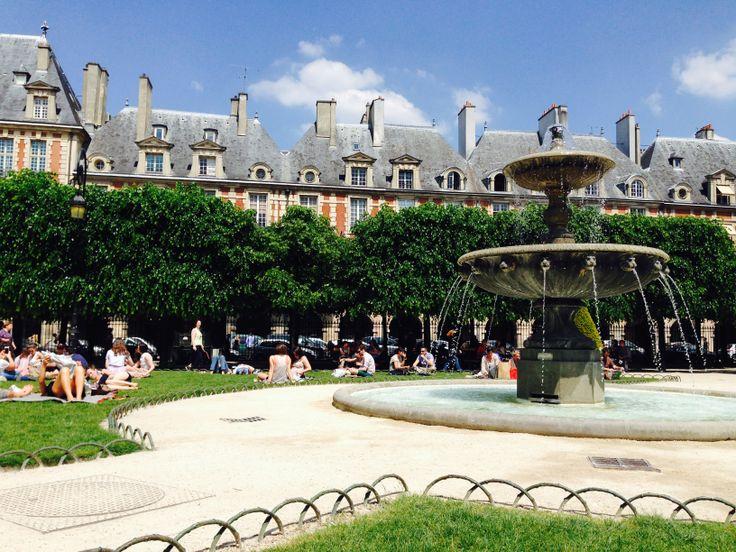 KINSA in Paris - Place de Vosges, Le Marais