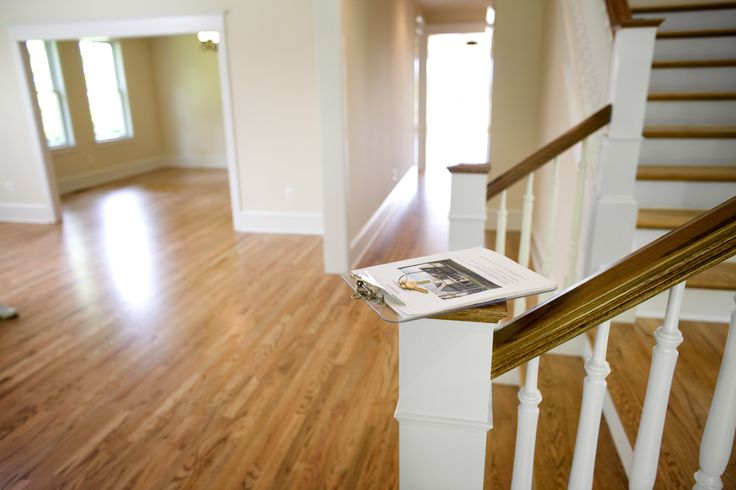 While personal preference is a factor, the direction in which you run hardwood flooring boards is governed by visual and structural guidelines.