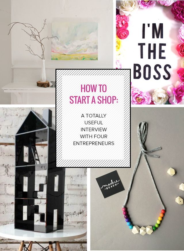How to Start a Shop A Totally