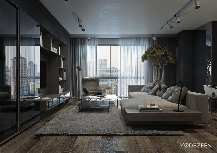 Bacherlor Living Room