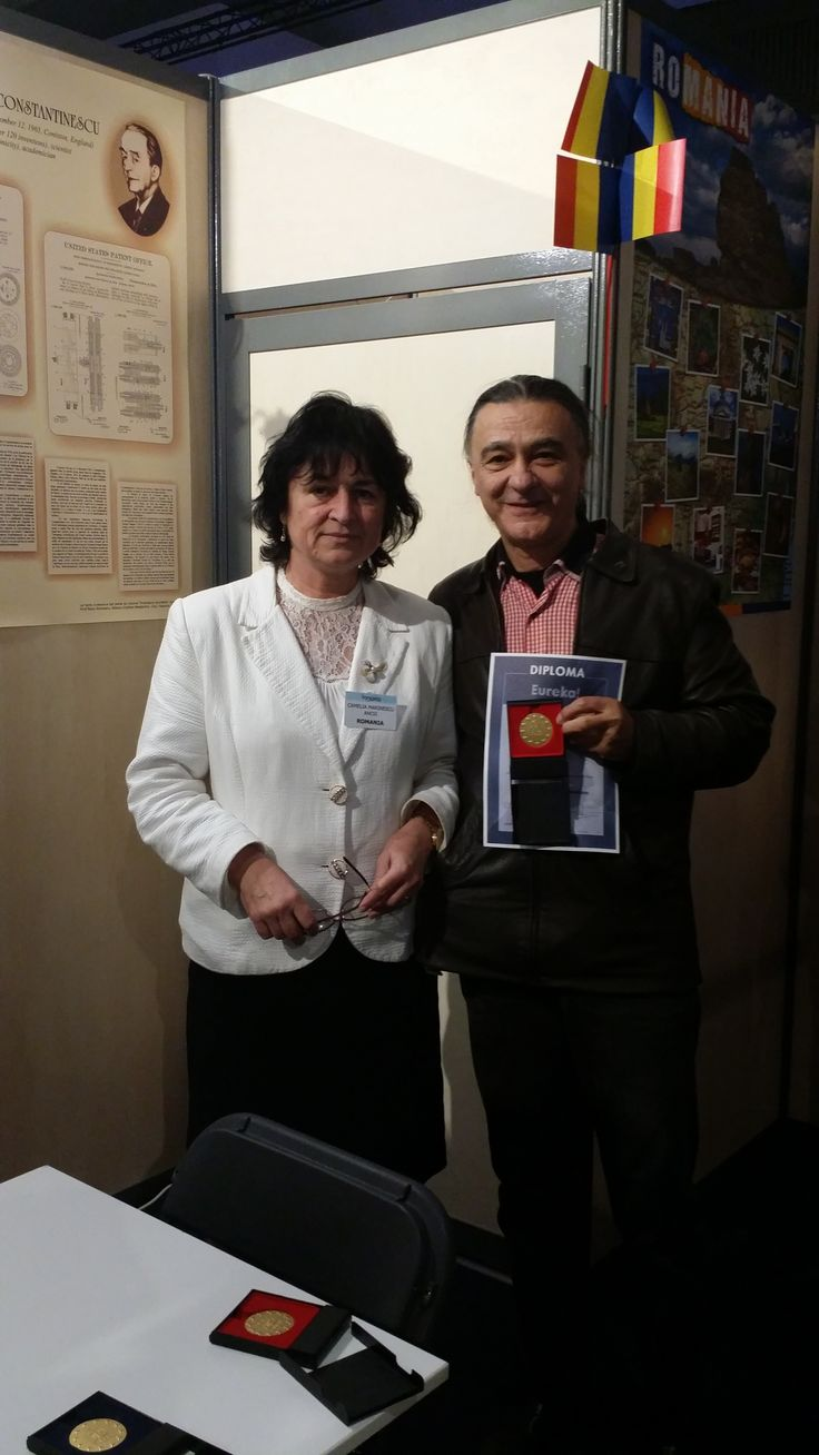 Premiere medalia aur - USAMV Bucuresti - Dr. M.Velcea