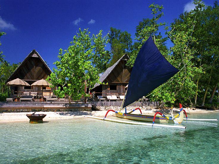 Ratua Private Island, Vanuatu. A remote island haven in Espiritu Santo. Do yourself a favour.... www.islandescapes.com.au