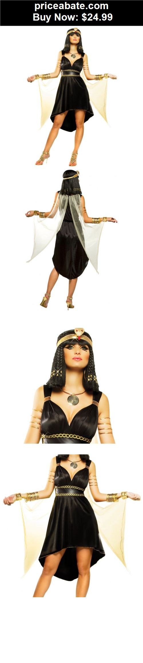 Women-Costumes: Sexy Cleopatra Costume Adult Womens Egyptian Halloween Fancy Dress - BUY IT NOW ONLY $24.99