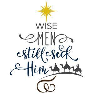 Silhouette Design Store - View Design #159937: wise men still seek him- tree