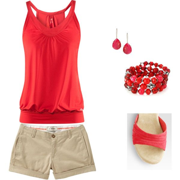Cruise Wear, created by nancy-wheat on Polyvore. I can see me rockin this out on my cruise.