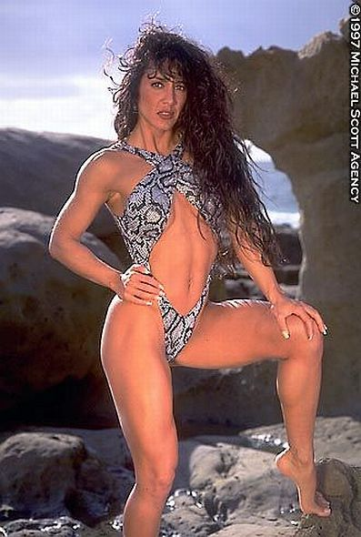 Maria Gonzales Was A Fitness Competitor And Fitness Model