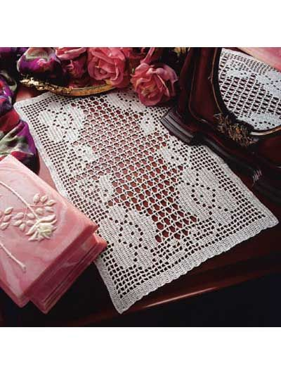 four roses doily pattern