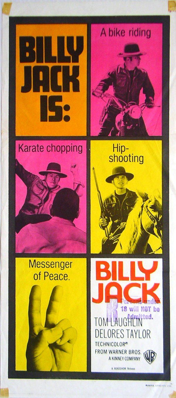 """When policemen break the law, then there isn't any law - just a fight for survival."" - Billy Jack - Tom Laughlin (1971)"