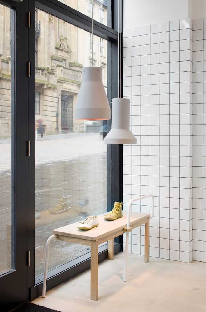 The lights camper shop glasgow by thomas alonso for Interior design agency glasgow