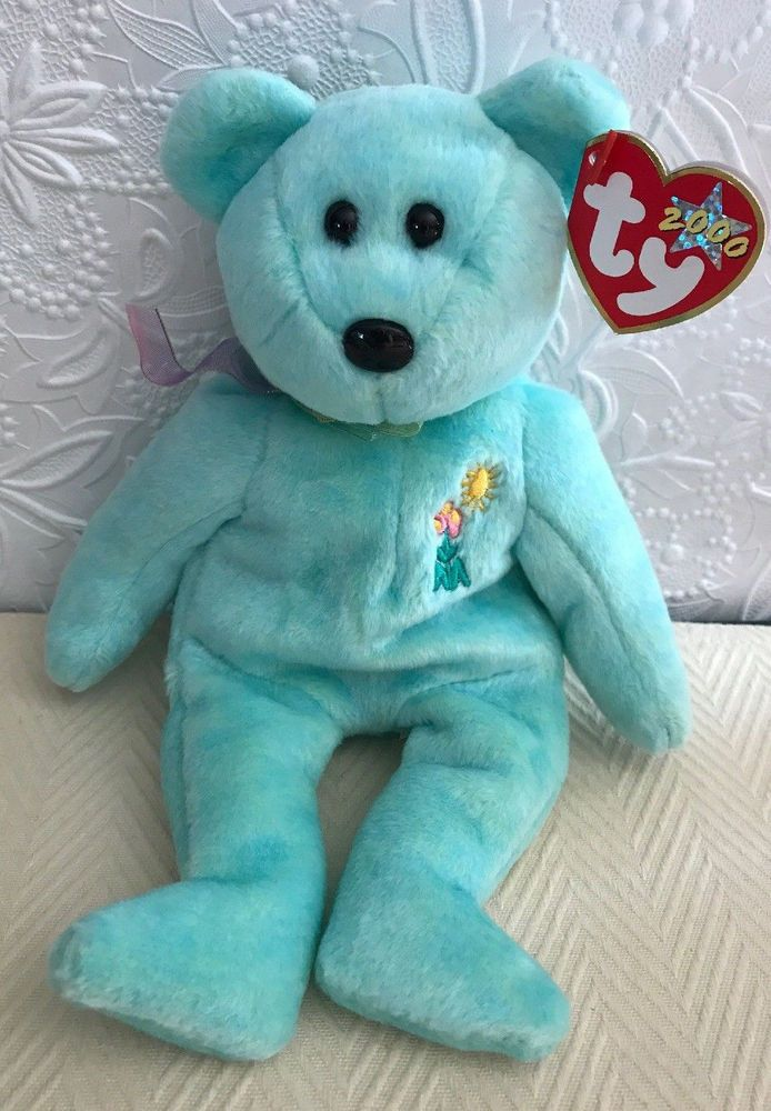 eedba964577 TY ARIEL the BEAR BEANIE BABY - MINT with MINT TAG  Ty