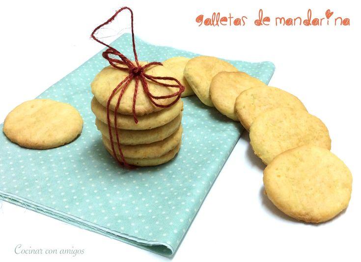 Cocinar con amigos: Galletas de mandarina {bizcochadas}