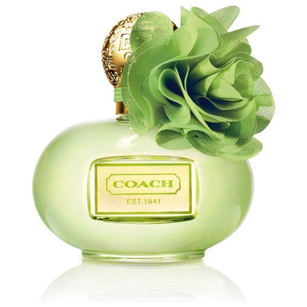 Coach Poppy Citrine Blossom Women's 3.4-ounce Eau de Parfum Spray found on Polyvore featuring beauty products, fragrance, perfume, flower fragrance, eau de parfum perfume, blossom perfume, edp perfume and eau de perfume