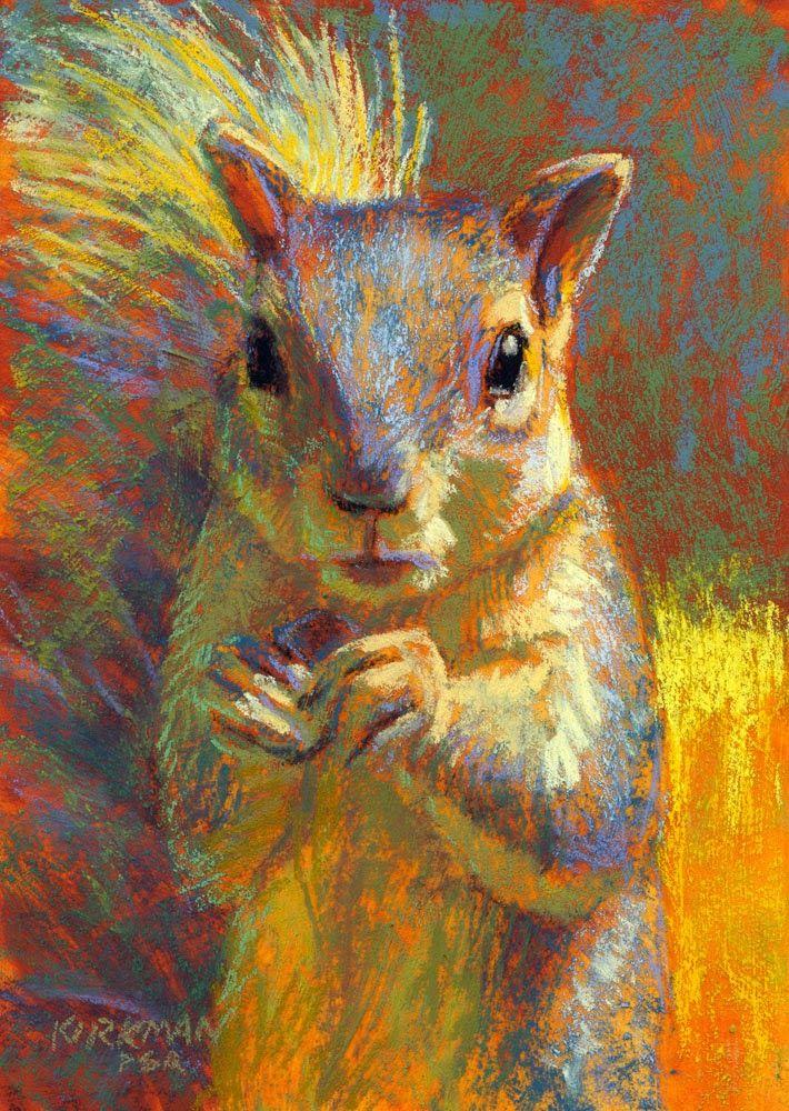 Rita Kirkman's Daily Paintings: Muncher