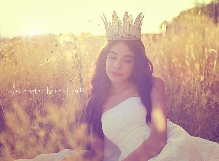 sunset portrait glitter crown Portrait, Photography