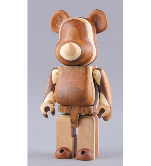 Bear Brick layered wood