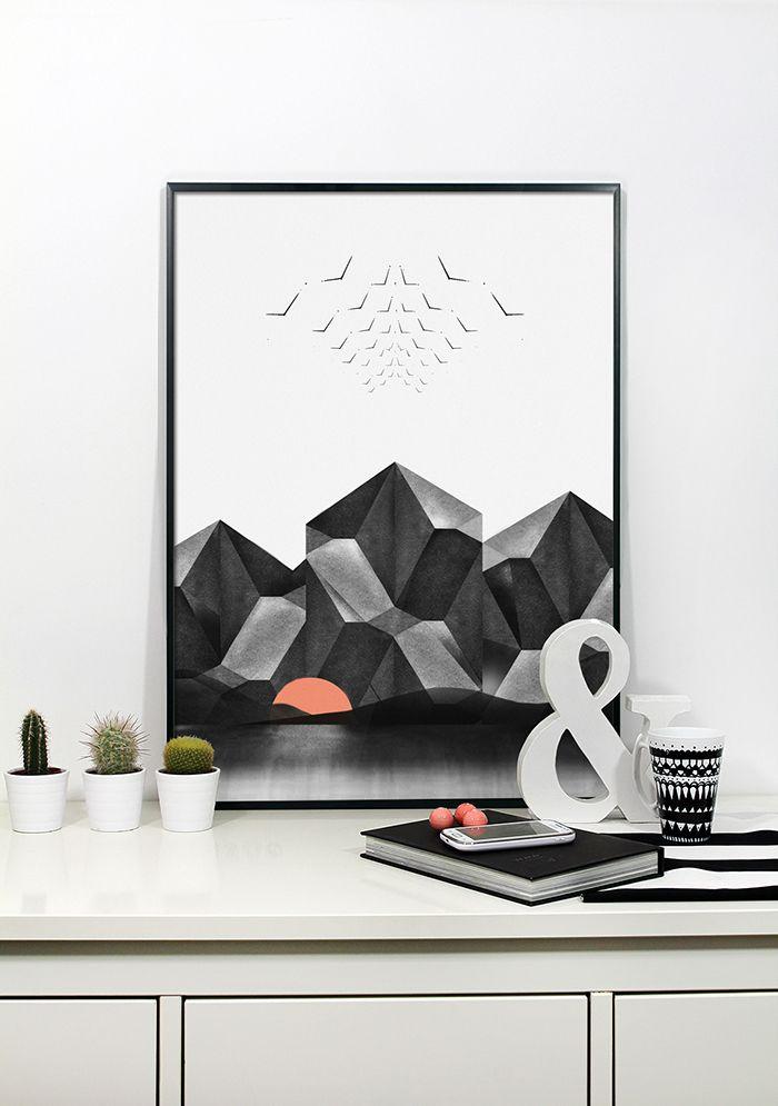 https://www.facebook.com/printlovee   print, design, grafika, graphic, scandinavian, minimalism, wite