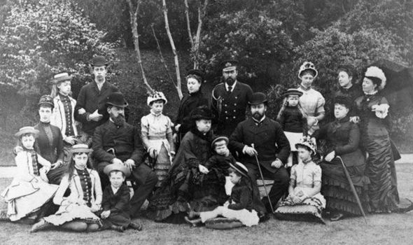 """Classically stern Queen Victoria with her family. """"The Young Victoria"""" is set to air on the Ovation Channel this week. Check your local channel guides."""