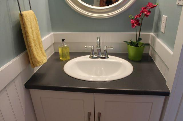 Half Bathroom Or Powder Room: The Impatient Remodelers: Powder Room (Half Bath) Reveal