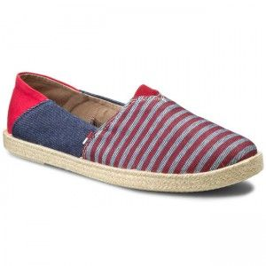 Espadryle TOMMY HILFIGER - DENIM Sari 2JS EN56821154 Denim Stripe 931