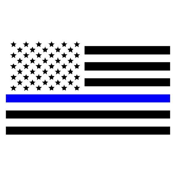 law enforcement american flag - photo #22
