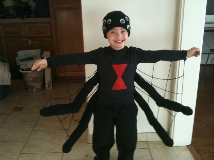 Spider costume ideas for kids pinterest maya for Easy halloween costume ideas for boys