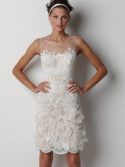 394 best images about Short Wedding Dresses on Pinterest | Short ...