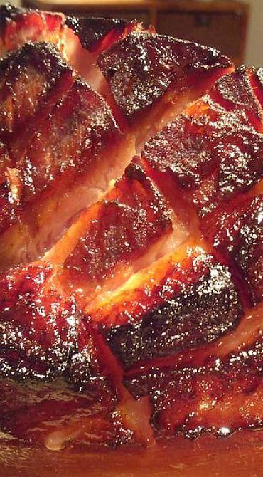 Coca-Cola Glazed Ham with Brown Sugar and Dijon