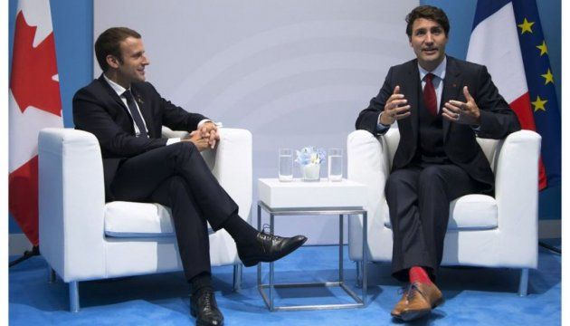Prime Minister of Canada Justin Trudeau and President of France Emmanuel Macron on the sidelines of the G20 summit discussed the situation in Ukraine.