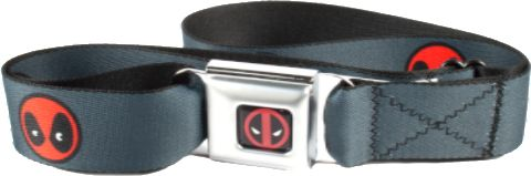 Deadpool Kawaii Face Belt