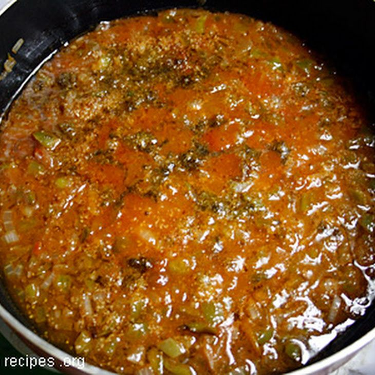 Cuban Sofrito Recipe Main Dishes with vegetable oil, onions, green bell pepper, garlic, salt, pepper, ground cumin, dried oregano, bay leaves, tomatoes, tomato sauce