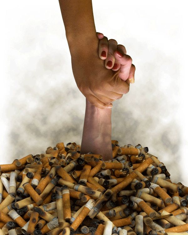 Can smokers quit smoking easily??