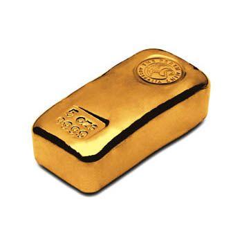 Perth Mint 5oz Gold Cast Bar