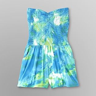 Dream Out Loud by Selena Gomez- -Junior's Romper - Tie-Dye