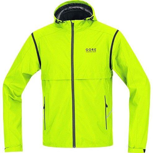 pour homme veste essential windstopper active shell zip off gore running wear