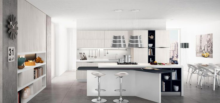 ... Moderne 2015 - Round on Pinterest  Fitted kitchens, Belle and Grey