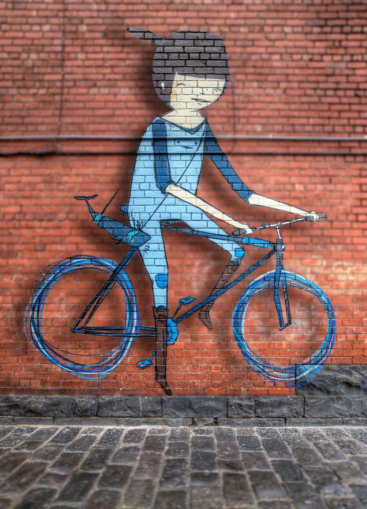 https://flic.kr/p/qeaU9N | Ghostpatrol | Street art by Ghostpatrol in North Melbourne