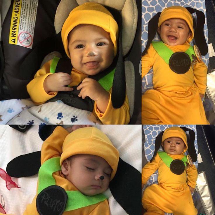 DIY Disney baby Pluto costume!